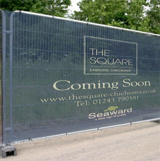 Site Fence Mesh Banner